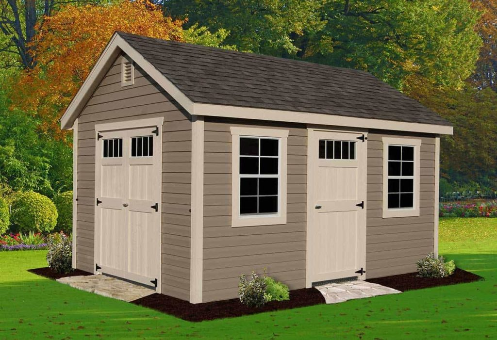 Outdoor Storage Shed Building Materials - Things to Remember