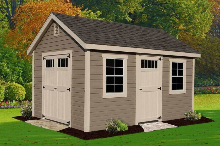 Outdoor Storage Shed Building Materials – Things to Remember