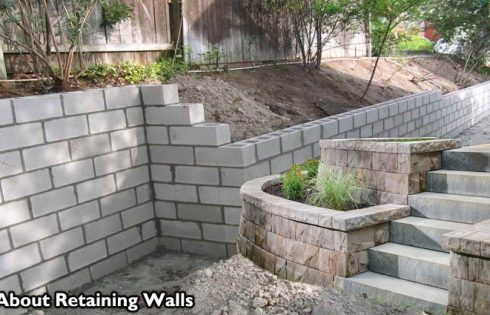 All About Retaining Walls - Concrete Retaining Walls and Decorative Retaining Walls