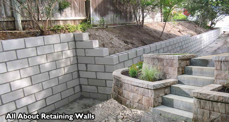 All About Retaining Walls – Concrete Retaining Walls and Decorative Retaining Walls